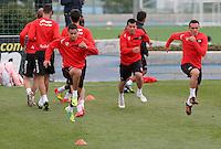 entrenamiento sevilla, valdevebas,Madrid 27 abril 2012