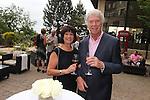 ISPS Handa Wales Open 2012.Terry M's Restaurant Opening.Marlene Shalton & Richard Outrim.01.06.12.©Steve Pope