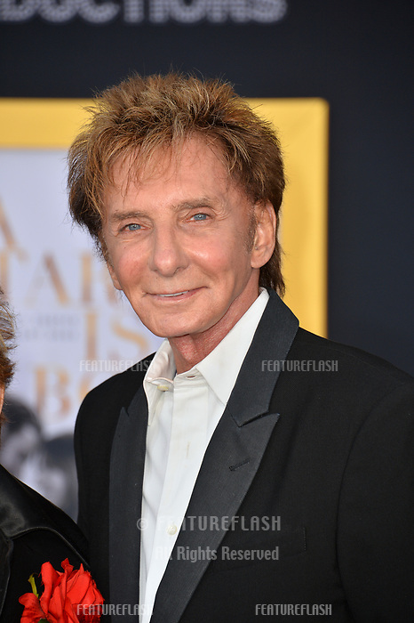 LOS ANGELES, CA. September 24, 2018: Barry Manilow at the Los Angeles premiere for &quot;A Star Is Born&quot; at the Shrine Auditorium.<br /> Picture: Paul Smith/Featureflash