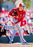 29 February 2020: Washington Nationals starting pitcher Patrick Corbin on the mound during a Spring Training game against the St. Louis Cardinals at Roger Dean Stadium in Jupiter, Florida. The Cardinals defeated the Nationals 6-3 in Grapefruit League play. Mandatory Credit: Ed Wolfstein Photo *** RAW (NEF) Image File Available ***