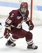 Chris Kreider (BC - 19) - The Northeastern University Huskies defeated the Boston College Eagles 3-2 on Friday, February 19, 2010, at Matthews Arena in Boston, Massachusetts.