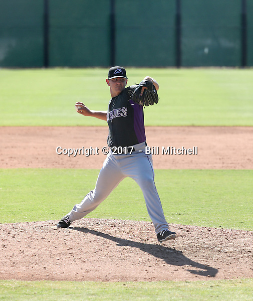 Will Gaddis - 2017 AIL Rockies (Bill Mitchell)