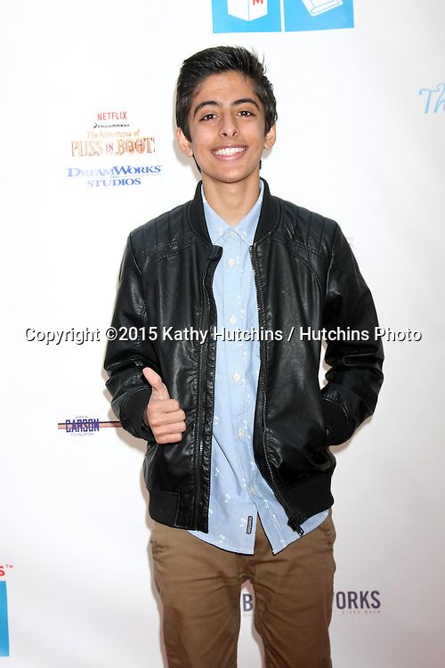 LOS ANGELES - FEB 19:  Karan Brar at the Milk+Bookies Sixth Annual Story Time Celebration at the Toyota Grand Prix Racecourse on April 19, 2015 in Long Beach, CA