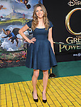 """Sarah Chalke at The World Premiere of Disney's fantastical adventure ?Oz The Great and Powerful"""" held at The El Capitan Theater in Hollywood, California on February 13,2013                                                                   Copyright 2013 Hollywood Press Agency"""