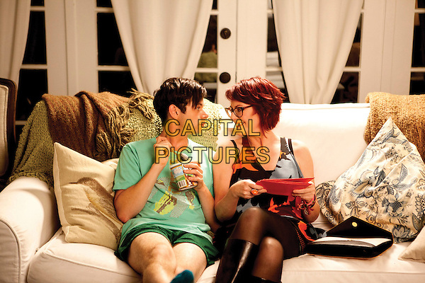 PAUL IACONO, MEGAN MULLALLY<br /> in G.B.F. (2013) <br /> GBF<br /> *Filmstill - Editorial Use Only*<br /> CAP/FB<br /> Image supplied by Capital Pictures