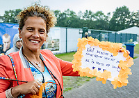 Rosmalen, Netherlands, 16 June, 2019, Tennis, Libema Open, A big Kiki Bertens (NED) fan<br /> Photo: Henk Koster/tennisimages.com