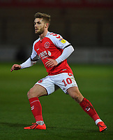 Fleetwood Town's Conor McAleny<br /> <br /> Photographer Dave Howarth/CameraSport<br /> <br /> Leasing.com Trophy Northern Section Round Three - Fleetwood Town v Accrington Stanley - Tuesday 7th January 2020 - Highbury Stadium - Fleetwood<br />  <br /> World Copyright © 2018 CameraSport. All rights reserved. 43 Linden Ave. Countesthorpe. Leicester. England. LE8 5PG - Tel: +44 (0) 116 277 4147 - admin@camerasport.com - www.camerasport.com