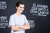 Joana Ribeiro attends to presentation of 'El hombre que mato a Don Quijote' (The man who killed Don Quixote) at NH Eurobuilding Hotel in Madrid, Spain. May 29, 2018. (ALTERPHOTOS/Borja B.Hojas) /NortePhoto.com