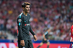 Chelsea's Alvaro Morata during UEFA Champions League match between Atletico de Madrid and Chelsea at Wanda Metropolitano in Madrid, Spain September 27, 2017. (ALTERPHOTOS/Borja B.Hojas)
