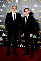 Jacques Henri Eyraud President de l OM Andoni Zubizarreta <br /> Parigi 3-12-2018 <br /> Arrivi Cerimonia di premiazione Pallone d'Oro 2018 <br /> Foto JB Autissier/Panoramic/Insidefoto <br /> ITALY ONLY