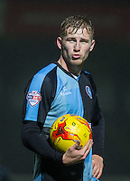 Jason McCarthy of Wycombe Wanderers during the Sky Bet League 2 match between Wycombe Wanderers and Morecambe at Adams Park, High Wycombe, England on 2 January 2016. Photo by Andy Rowland / PRiME Media Images