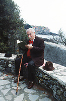 Mario Soldati (Torino, 17 novembre 1906 – Tellaro, 19 giugno 1999) è stato uno scrittore, giornalista, regista cinematografico, sceneggiatore e autore televisivo. Tellaro La Spezia, 10 settembre 1990. © Leonardo Cendamo