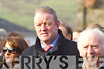 Mick Galwey at the Funeral of Paudi O'Se at Ventry Church on Tuesday.