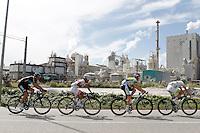 Juian Antonio Flecha, Yukihiro Doi, Travis Meyer and Thierry Hupond during the stage of La Vuelta 2012 between Ponteareas and Sanxenxo.August 28,2012. (ALTERPHOTOS/Acero) /NortePhoto.com<br /> <br /> **CREDITO*OBLIGATORIO** <br /> *No*Venta*A*Terceros*<br /> *No*Sale*So*third*<br /> *** No*Se*Permite*Hacer*Archivo**<br /> *No*Sale*So*third*