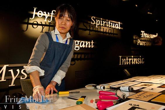 Nunavut painter and printmaker Gyu Oh