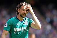 Jay Rodriquez of West Brom during the EPL - Premier League match between Crystal Palace and West Bromwich Albion at Selhurst Park, London, England on 13 May 2018. Photo by Carlton Myrie / PRiME Media Images.