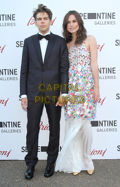 LONDON, UNITED KINGDOM - JULY 01: Keira Knightley and James Righton attend the annual Serpentine Gallery Summer Party at The Serpentine Gallery on July 1, 2014 in London, England<br /> CAP/ROS<br /> &copy;Steve Ross/Capital Pictures