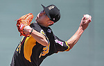 Salt Lake Bees&rsquo; Tim Lincecum pitches against the Reno Aces at Greater Nevada Field in Reno, Nev., on Tuesday, June 7, 2016. <br />