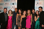 All My Children's Susan Lucci and cast AMC - Jacob Young, Brianne Moncrief, Cornelius Smith Jr, Denise Vasi, Chrishell Stause, Ricky Paull Goldin, Melissa Claire Egan and Cameron Mathison attend the after party of ABC and SOAPnet's Salutes to Broadway Cares/Equity Fights Aids on March 9, 2009 at the New York Marriott Marquis, New York, NY.  (Photo by Sue Coflin/Max Photos)