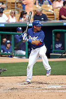 Austin Barnes - Los Angeles Dodgers 2016 spring training (Bill Mitchell)