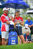 So Yeon Ryu (KOR) looks over her tee shot on 1 during Friday's second round of the 72nd U.S. Women's Open Championship, at Trump National Golf Club, Bedminster, New Jersey. 7/14/2017.<br /> Picture: Golffile | Ken Murray<br /> <br /> <br /> All photo usage must carry mandatory copyright credit (&copy; Golffile | Ken Murray)