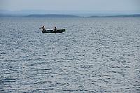 ZAMBIA, Sinazongwe , Kariba lake reservoir of damed Zambezi river / Kariba Stausee des aufgestauten Sambesi Fluß, die hier siedelnden Tonga wurden durch den Staudamm 1979 vertrieben und umgesiedelt