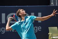 Den Bosch, Netherlands, 09 June, 2016, Tennis, Ricoh Open, Daniil Medvedev (RUS)<br /> Photo: Henk Koster/tennisimages.com