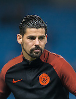 Nolito of Manchester City before the UEFA Champions League GROUP match between Manchester City and Celtic at the Etihad Stadium, Manchester, England on 6 December 2016. Photo by Andy Rowland.