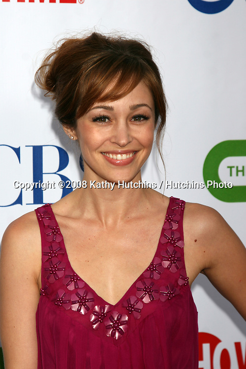 Autumn Reeser  arriving at the CBS TCA Summer 08 Party at Boulevard 3 in Los Angeles, CA on.July 18, 2008.©2008 Kathy Hutchins / Hutchins Photo .