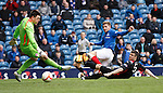 Kyle Hutton scores the second goal for Rangers