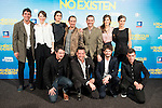 "The cast during the premiere of the film ""Los miercoles no existen"" at Kinepolis Cinemas in Madrid, October 14, 2015.<br /> (ALTERPHOTOS/BorjaB.Hojas)"