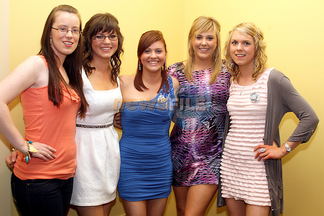 Michelle Leddy with her friends Helen Mooney, Siobhan Leddy, Ciara Boylan and Laura Campbell at her 21st in The Star and Crescent...Photo NEWSFILE/Jenny Matthews.(Photo credit should read Jenny Matthews/NEWSFILE)....This Picture has been sent you under the condtions enclosed by:.Newsfile Ltd..The Studio,.Millmount Abbey,.Drogheda,.Co Meath..Ireland..Tel: +353(0)41-9871240.Fax: +353(0)41-9871260.GSM: +353(0)86-2500958.email: pictures@newsfile.ie.www.newsfile.ie.FTP: 193.120.102.198.