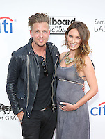 LAS VEGAS, NV - May 18 : Ryan tedder abd Wife pictured at 2014 Billboard Music Awards at MGM Grand in Las Vegas, NV on May 18, 2014. ©EK/Starlitepics
