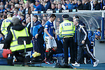 Lee McCulloch sent off by ref Bobby Madden