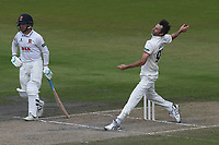 Graham Onions in bowling action for Lancashire during Lancashire CCC vs Essex CCC, Specsavers County Championship Division 1 Cricket at Emirates Old Trafford on 11th June 2018
