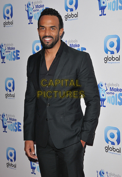 Craig David attends the Global Radio's Make Some Noise Night Gala, Supernova, Embankment Gardens, London, England, UK, on Tuesday 24 November 2015. <br /> CAP/CAN<br /> &copy;CAN/Capital Pictures
