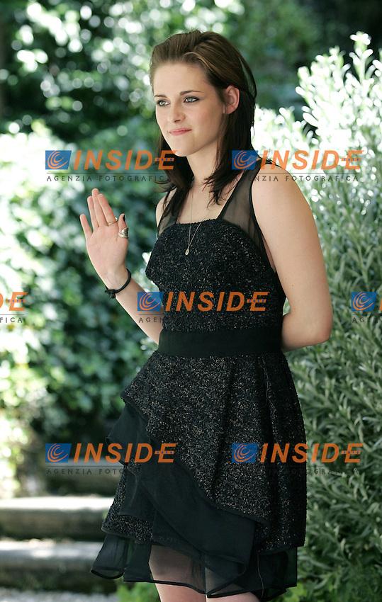 Kristen Stewart.The Twilight  Saga: Eclipse - Photo Call.Rome June 17, 2010.Photo Serena Cremaschi Insidefoto