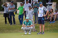 Sergio Garcia (ESP) lines up his eagle attempt on 5 during day 4 of the WGC Dell Match Play, at the Austin Country Club, Austin, Texas, USA. 3/30/2019.<br /> Picture: Golffile | Ken Murray<br /> <br /> <br /> All photo usage must carry mandatory copyright credit (© Golffile | Ken Murray)
