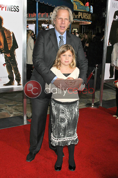 Steve Tisch and his daughter<br />