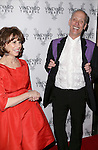 Margo Lion and John Waters attends 2015 Vineyard Theatre Gala honoring Margo Lion at Edison Ballroom on March 30, 2015 in New York City.