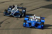 Verizon IndyCar Series<br /> Iowa Corn 300<br /> Iowa Speedway, Newton, IA USA<br /> Sunday 9 July 2017<br /> Max Chilton, Chip Ganassi Racing Teams Honda, Scott Dixon, Chip Ganassi Racing Teams Honda<br /> World Copyright: F. Peirce Williams<br /> LAT Images