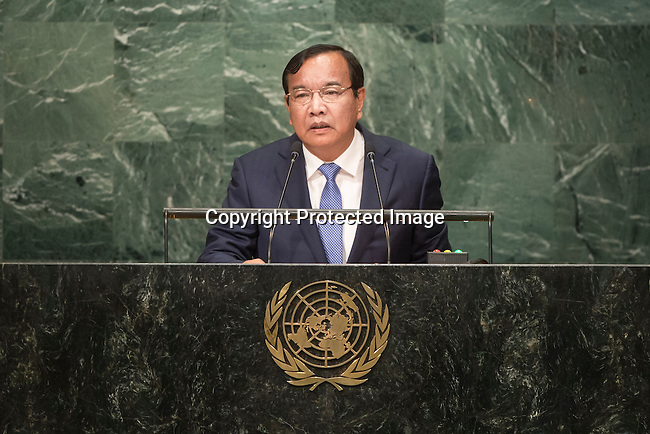 Cambodia<br /> H.E. Mr. Prak Sokhonn<br /> Minister for Foreign Affairs<br /> <br /> <br /> <br /> General Assembly Seventy-first session 20th plenary meeting<br /> <br /> General Debate