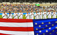 Belo Horizonte, Brazil - Saturday, August 6, 2016: The USWNT take on France in Group G play during the 2016 Olympics at Mineirão stadium.