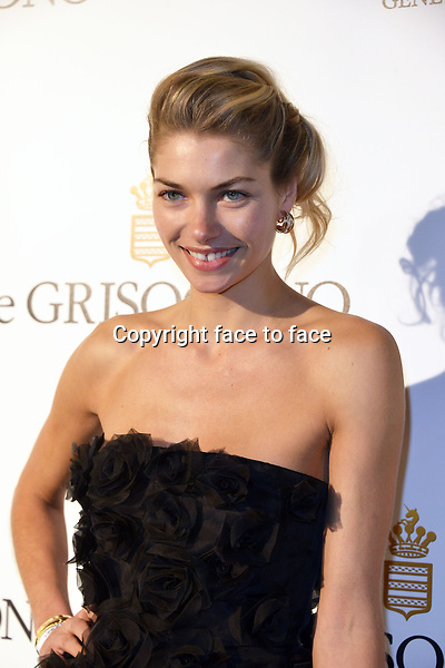 Jessica Hart attending the Grisogono party, at the hotel Eden Roc, in Antibes, during the 66th annual International Cannes Film Festival in Cannes, France, 21th May 2013. Credit: Timm/face to face
