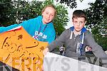 Tara O'Sullivan (Kilgarvan) and Dan Curley (Galway) getting ready for Jedward on Friday.
