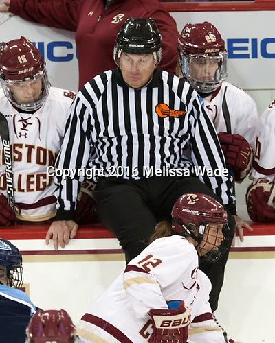 Erin Connolly (BC - 15), Rob Kelley, Kenzie Kent (BC - 12), Caroline Ross (BC - 25) - The Boston College Eagles defeated the visiting University of Maine Black Bears 2-1 on Saturday, October 8, 2016, at Kelley Rink in Conte Forum in Chestnut Hill, Massachusetts.  The University of North Dakota Fighting Hawks celebrate their 2016 D1 national championship win on Saturday, April 9, 2016, at Amalie Arena in Tampa, Florida.