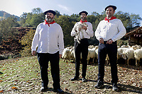 Mission Pays Basque (2017)  <br /> Ludovic BERTHILLOT, Yann PAPIN, Eric BOUGNON <br /> *Filmstill - Editorial Use Only*<br /> CAP/KFS<br /> Image supplied by Capital Pictures