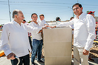 Develan placa y nomenclatura en la calle y principal del ejido la Victoria, con el nombre de Don Gustavo Astiazaran fundador de  Grupo Uniradio. <br />  07abril2018 <br /> (Photo:Luis Gutierrez/ NortePhoto.com)<br /> <br /> pclaves: