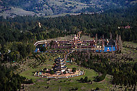 aerial photograph Odiyan Buddist Retreat Center Sonoma County, California
