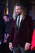 London, UK. 22 March 2016. Actor Jason Momoa (Aquaman). Warner Bros. Pictures presents the European Premiere of Batman v Superman, Dawn of Justice. The movie, directed by Zack Snyder, stars Ben Affleck as Batman/Bruce Wayne and Henry Cavill as Superman/Clark Kent in the characters' first big-screen pairing. The movie opens in cinemas on 25 March 2016. © Vibrant Pictures/Alamy Live News